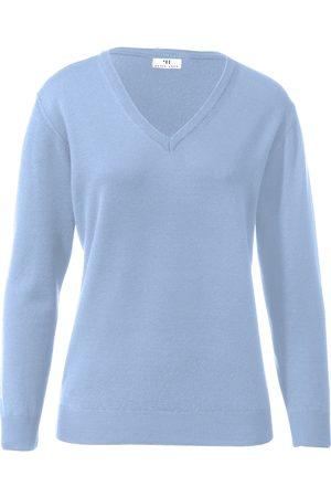 Peter Hahn V-Pullover aus 100%Schurwolle Pure Tasmanian Wool