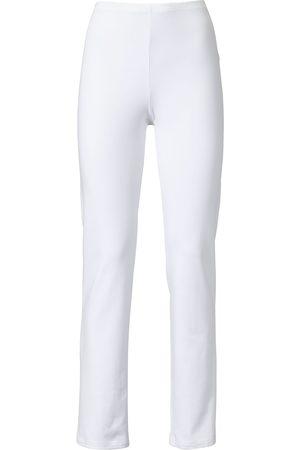 Green Cotton Damen Leggings & Treggings - Leggings weiss