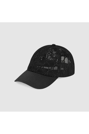 Gucci Damen Caps - Baseballkappe mit GG Stickerei