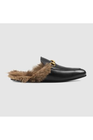 Gucci Herren Halbschuhe - Princetown Slipper aus Leder