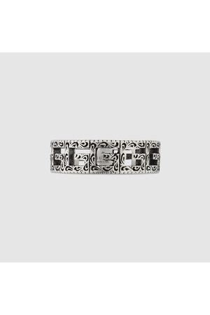 Gucci Ring aus mit Square G