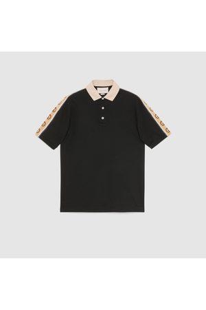 Gucci Herren Poloshirts - Poloshirt mit GG Streifen