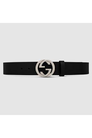 Gucci Gürtel mit GG Schnalle aus Leder