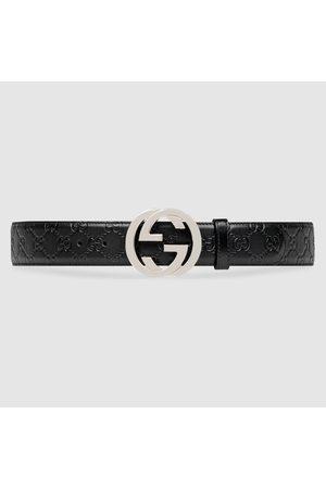 Gucci Gürtel aus Leder Signature