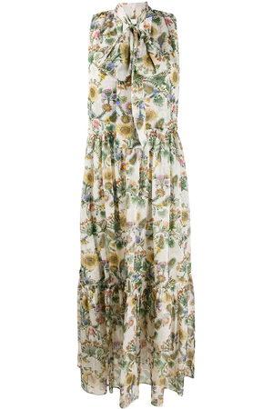 La DoubleJ Damen Freizeitkleider - Lou Lou thistle print dress