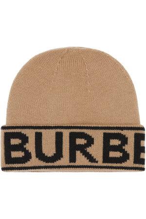 Burberry Hüte - Logo intarsia beanie