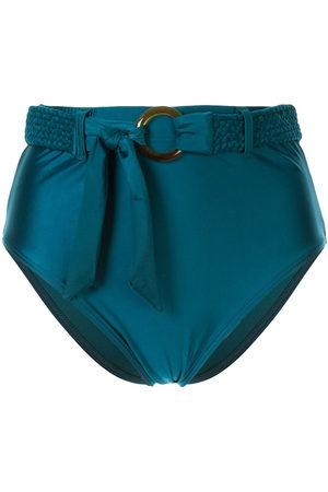 Duskii Océana belted high waisted bikini bottoms