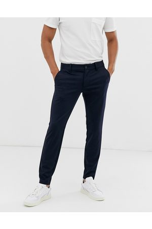 Only & Sons Slim tapered fit trousers in