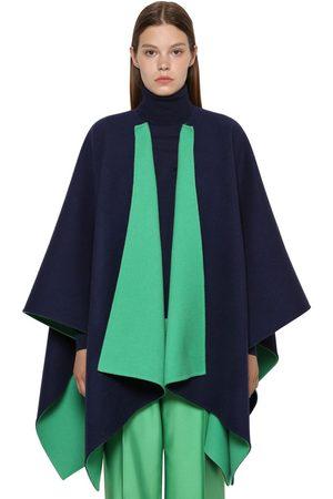 Ralph Lauren Reversible Wool Cape