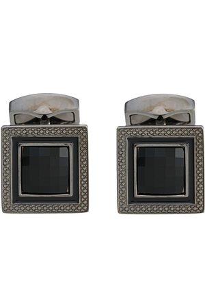 Tateossian Stone-centre cufflinks