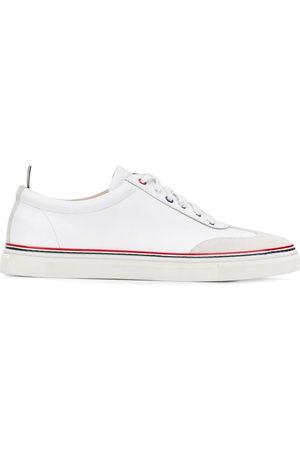 Thom Browne Herren Sneakers - Low-top calfskin sneakers