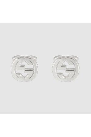 Gucci Herren Manschettenknöpfe - GG Manschettenknöpfe aus Silber