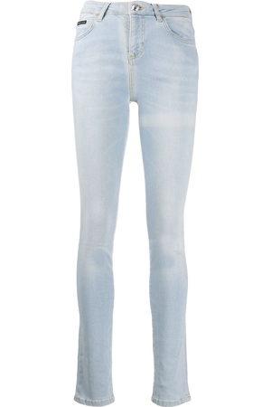 Philipp Plein Damen High Waisted - High-rise skinny jeans