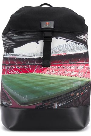 PAUL SMITH X Manchester United Old Trafford-print backpack