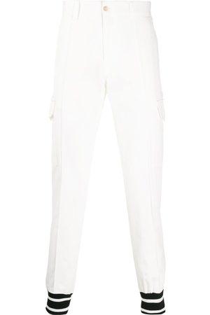 Dolce & Gabbana Herren Cargohosen - Contrast cuff cargo trousers