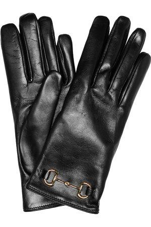 Gucci Damen Handschuhe - Handschuhe Horsebit aus Leder