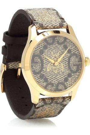 Gucci Uhr G-Timeless 38mm aus Leder