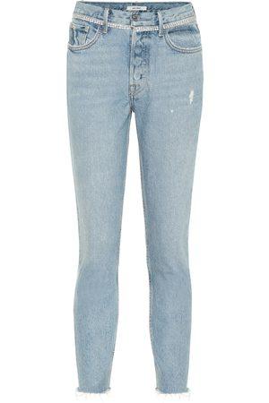 GRLFRND Distressed Skinny Jeans Karolina