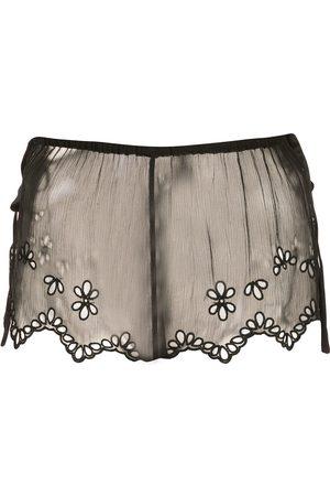 Kiki de Montparnasse Damen Slips & Panties - Sheer lace shorts