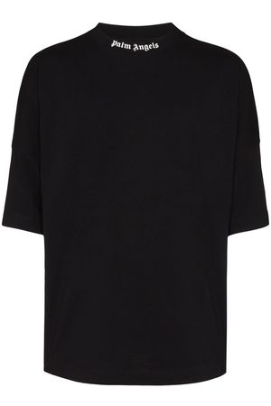 Palm Angels Herren Shirts - Logo print T-shirt