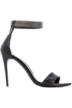 Fabiana Filippi Bead-embellished sandals