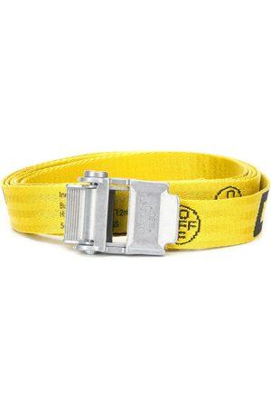 OFF-WHITE Mini 2.0 Industrial belt silver-tone buckle fastening
