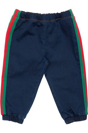 Gucci Damen Jogginghosen - Trainingshose Aus Baumwollfleece