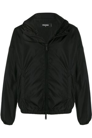 Dsquared2 Logo print hooded jacket