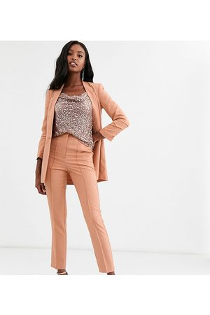 ASOS ASOS DESIGN Tall mix & match cigarette grazer suit trousers