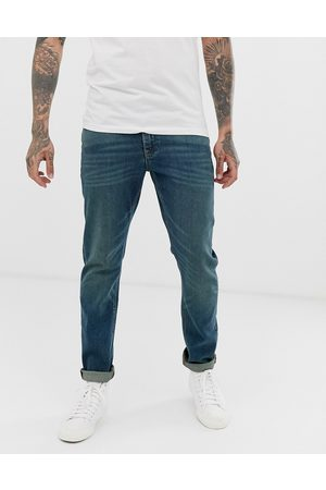 ASOS Stretch slim jeans in vintage dark wash