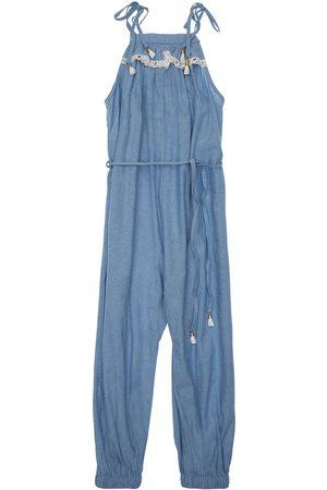 ZIMMERMANN Damen Jumpsuits - Kirra Cotton Chambray Jumpsuit