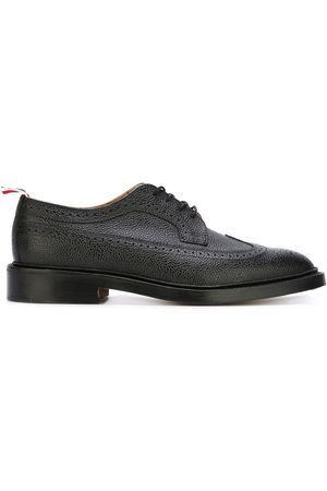 Thom Browne Herren Elegante Schuhe - Classic Longwing Brogue with Leather Sole
