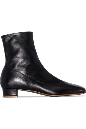 By Far Este 25mm square toe ankle boots