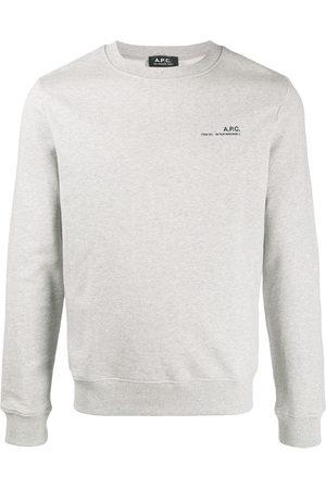 A.P.C Herren Sweatshirts - Logo sweatshirt