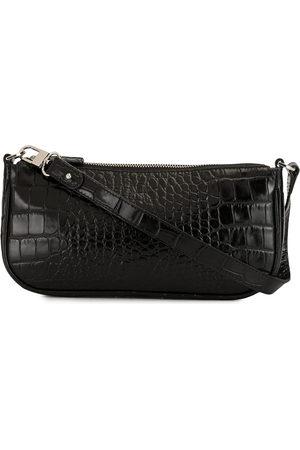 By Far Damen Umhängetaschen - Rachel croc-effect shoulder bag