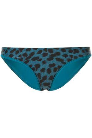 Duskii Damen Bikinis - Reversible leopard-print bikini bottoms
