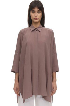 Agnona Long Silk Shirt