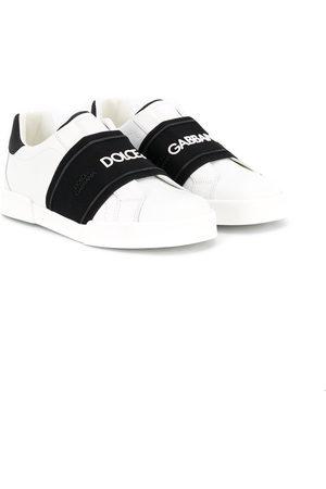 Dolce & Gabbana Slip-on logo band sneakers