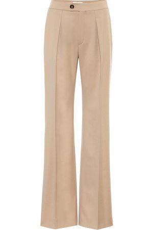Chloé Damen Stoffhosen - Hose aus Wolle