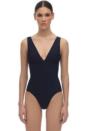 Bondi Born Veronica V Neck Lycra Swimsuit