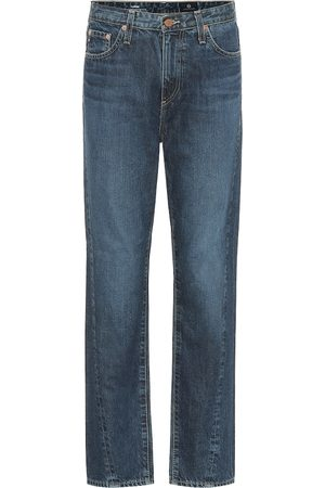 AG Jeans High-Rise Tapered Jeans The Phoebe