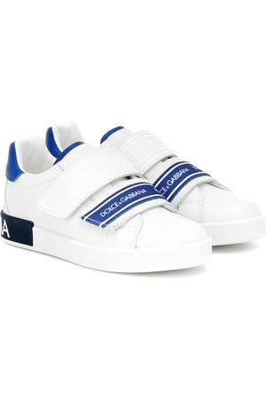 Dolce & Gabbana Sneakers aus Leder