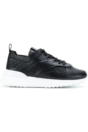 Tod's Damen Schnürschuhe - Panelled lace-up sneakers