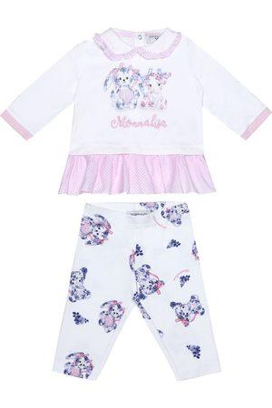MONNALISA Baby Set aus Longsleeve und Leggings