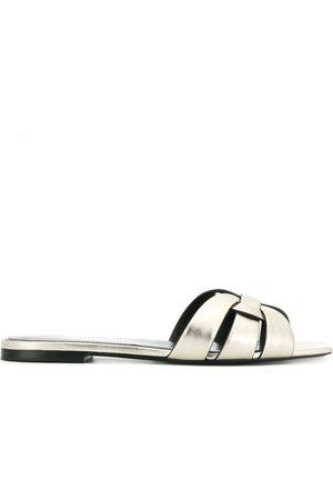 Saint Laurent Flat sole woven sandals