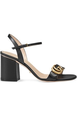 Gucci Logo-embellished leather sandal