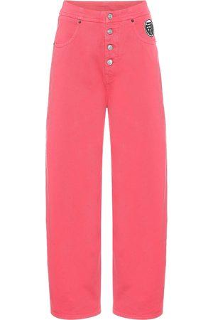MM6 MAISON MARGIELA High-Rise Jeans mit weitem Bein
