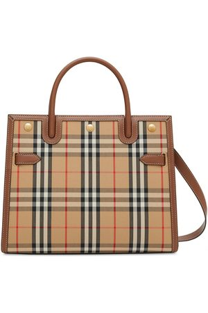 Burberry Damen Shopper - Title Vintage check tote bag