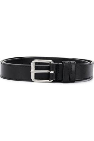 Comme Des Garçons Wallet Square-tip leather belt