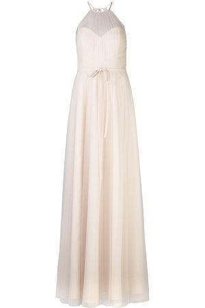 Marchesa Notte Damen Cocktail & Partykleider - Halterneck tulle bridesmaid gown